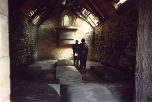 Restored Interior of Keith Family Mausoleum - 1989